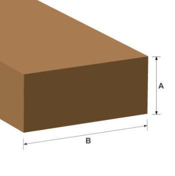 Plinth Block White Oak Moulding 25mmx 120mm x 160mm