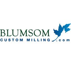 blumsom custom millig logo