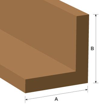 Corner Angle White Oak Moulding 25mm x 25mm per metre