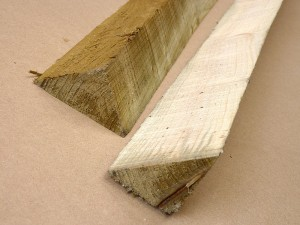 Green Treated Softwood Post (E4E) 90mm x 90mm x 3m