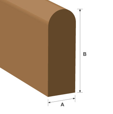 Parting Bead Softwood Moulding 9mm x 20mm per metre