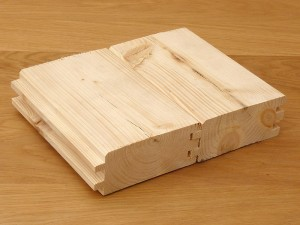 White Wood Tongue & Grooved 18mm x 145 mm