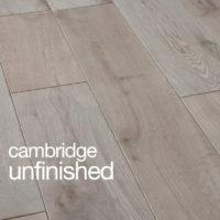 Cambridge Oak Flooring Unfinished Rustic B Grade Micro Beval Edges T&G