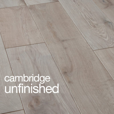 Cambridge Oak Flooring Unfinished Rustic B Grade Micro Beval Edges T&G