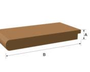 Window Board MDF Moulded & Primed 25mm x 170mm x 3660mm