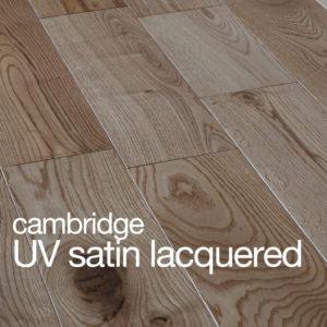 Cambridge Oak Flooring UV Satin Lacquer Rustic B Grade Beval Edges T&G