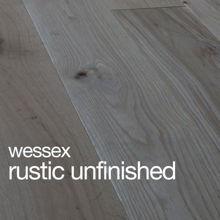 Wessex Oak Unfinished Flooring Rustic B Grade Beval Edges T&G