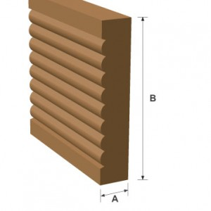 Rounded Architrave
